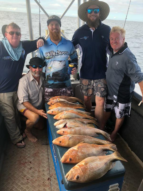 Golden Snapper on offshore boats darwin fishing charter
