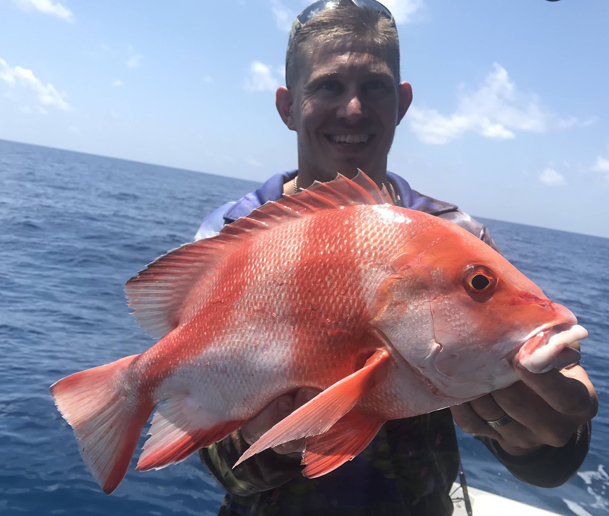 Red Emperor caught with Offshore Boats