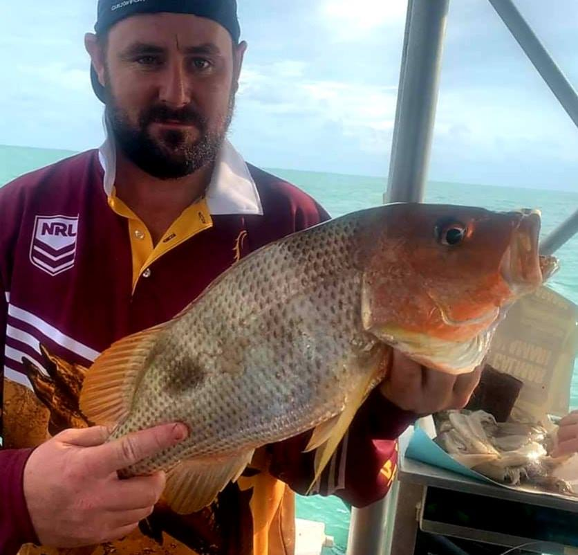 Goldies with Offshore Boats fishing charters Darwin NT