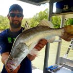 Barra with Offshore Boats - Darwin Fishing Charters