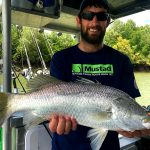 Barramundi with Offshore Boats - Darwin Fishing Charters