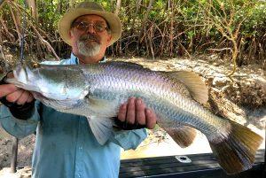 Darwin Barramundi with Offshore Boats - Darwin Fishing Charters