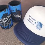 Darwin Offshore Fishing Charters - hats and stubbie coolers