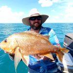 Offshore Boats - Darwin fishing charters Golden Snapper